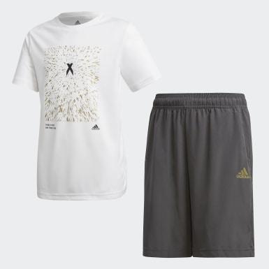 белый Комплект: футболка и шорты X AEROREADY