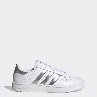 Sapatos Team Court Branco Mulher Originals