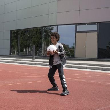 Tenis Runfalcon Negro Niño Running