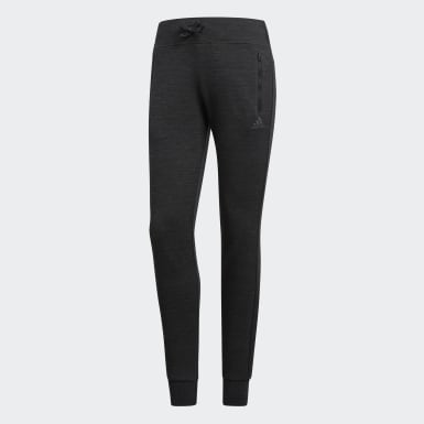 Women Athletics Black ID Pants