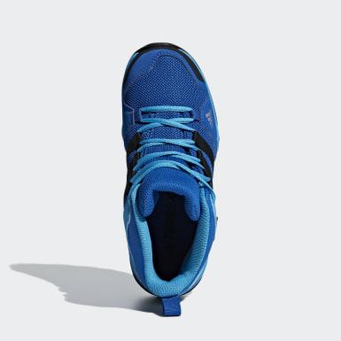 Çocuklar TERREX Blue Terrex AX2R Mid Rain.RDY Yürüyüş Ayakkabısı