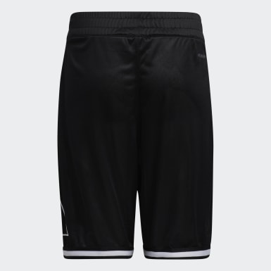 Kids Basketball Black Young Creators Legend Logo Basketball Shorts