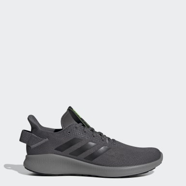 Men Running Grey Sensebounce + Street Shoes