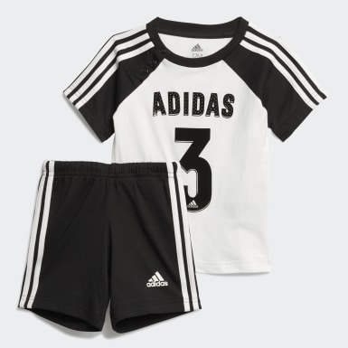 Kids Training White Sport Summer Set