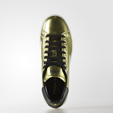 Tenis Stan Smith Oro Mujer Originals
