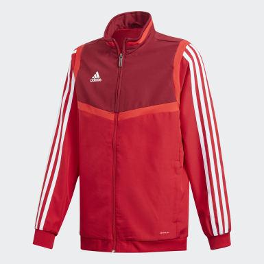 Børn Træning Rød Tiro 19 Presentation jakke