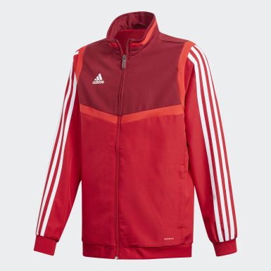 Kids Training Red Tiro 19 Presentation Track Top
