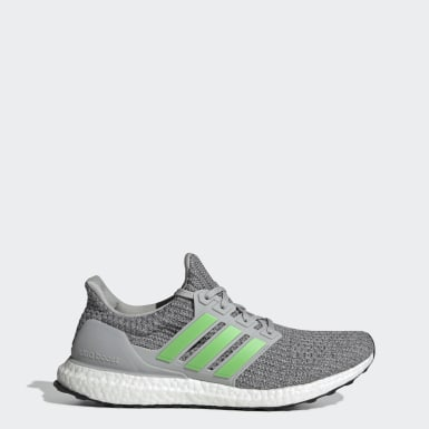 Men Running Grey Ultraboost Shoes