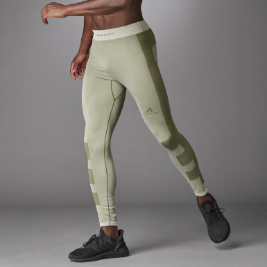Mallas largas Studio Techfit Seamless Blanco Hombre Estudio