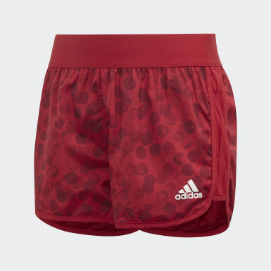 Youth Training Burgundy Marathon Shorts
