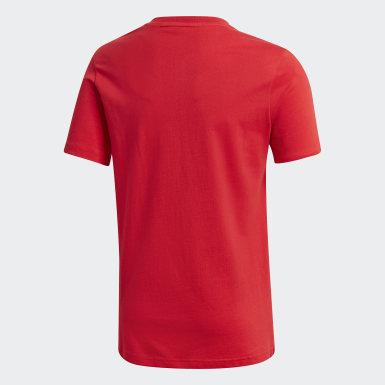 Conjunto de Shorts y Polera Pokémon Rojo Niño Sport Inspired