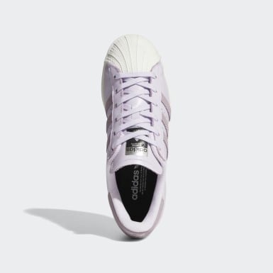 Women's Originals Purple Superstar Shoes