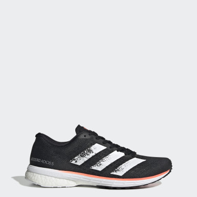 Women Running Black Adizero Adios 5 Shoes