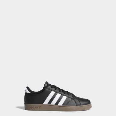 Kids Essentials Black Baseline Shoes