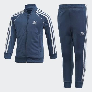 Kids Originals Blue SST Track Suit
