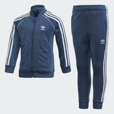 Kids 4-8 Years Originals Blue SST Tracksuit