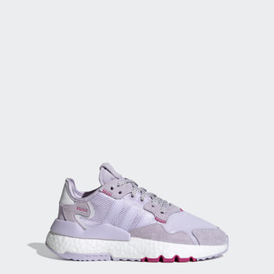 Youth Originals Purple Nite Jogger Shoes