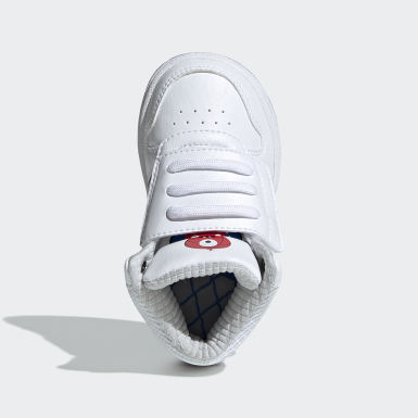 Chaussure Hoops 2.0 Mid Blanc Enfants Basketball
