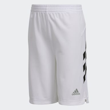 Children Training White Sport Shorts