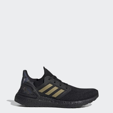 Erkek Koşu Siyah Ultraboost 20 Ayakkabı