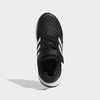 Çocuklar Koşu Siyah RapidaRun Ayakkabı