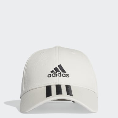 Tennis Grey Baseball 3-Stripes Twill Cap