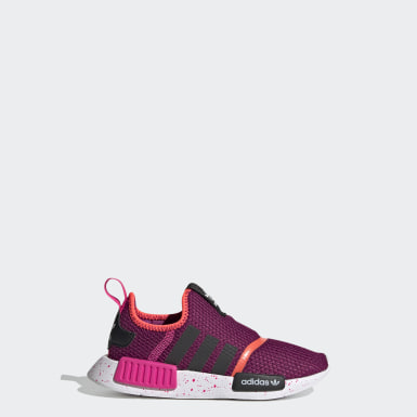 Kids Originals Burgundy NMD 360 Shoes