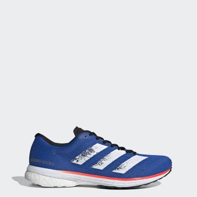 Chaussure Adizero Adios 5 Bleu Hommes Running