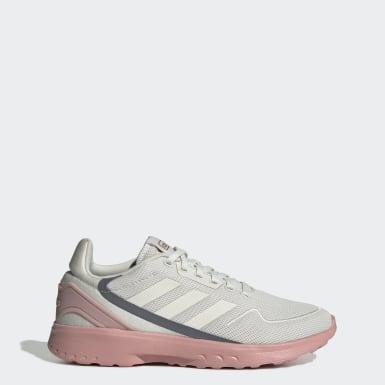 Frauen Running Nebzed Schuh Grau