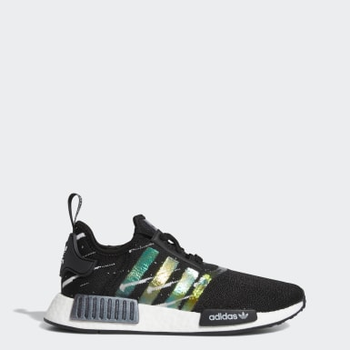 adidas NMD R1 Primeknit Green Marble For Sale