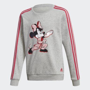 Girls Træning Grå Minnie Mouse Karate træningsdragt
