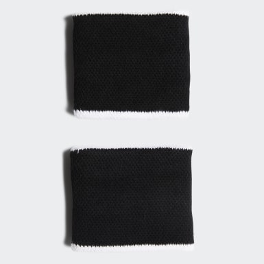 Tennis Black Tennis Wristband Small