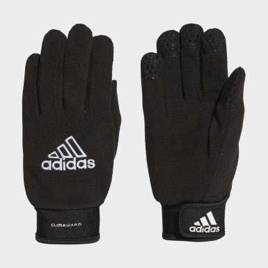 Guantes Field Player Negro Hombre Fútbol