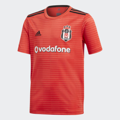 Youth Football Burgundy Beşiktaş JK Away Jersey