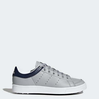 Kids Golf Grey Adicross Classic Shoes