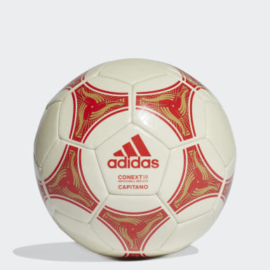 Men Football White Conext 19 Capitano Ball