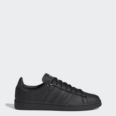 Men Originals Black 032C Campus Shoes