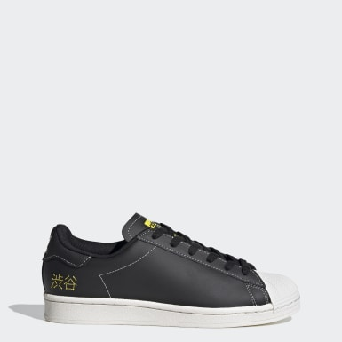 Originals Zwart Superstar Pure Schoenen