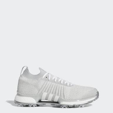 Men Golf Grey Tour360 XT Primeknit Shoes