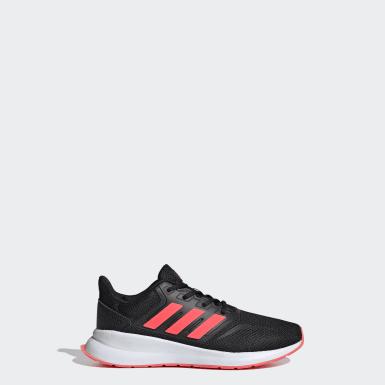 Çocuklar Koşu Siyah Runfalcon Ayakkabı