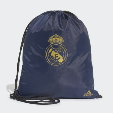 Football Blue Real Madrid Gym Bag