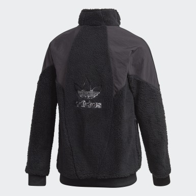 Youth Originals Black Polar Fleece Track Top