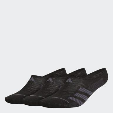 Socquettes invisibles Superlite Stripe 2 (3 paires) noir Hommes Entraînement