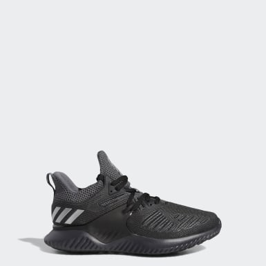 Kids Running Black Alphabounce Beyond Shoes