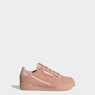 Kids 4-8 Years Originals Pink Continental 80 Shoes