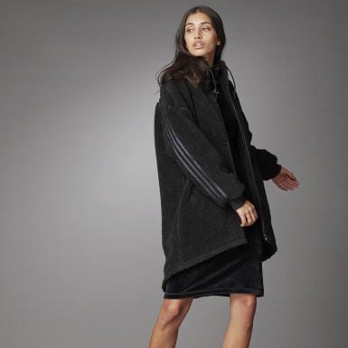 Women's Athletics Black Big Jacket