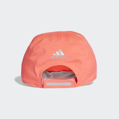 วิ่ง สีชมพู หมวกแก๊ปเจาะรูระบายอากาศสำหรับใส่วิ่ง