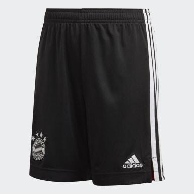 Kinderen Voetbal Zwart FC Bayern München 20/21 Derde Short