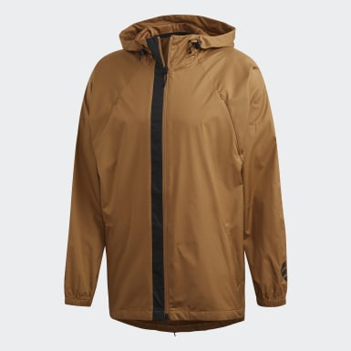 Men Athletics Brown adidas Athletics Pack W.N.D. Jacket