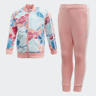 Ensemble SST Rose Enfants Originals